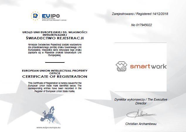ТМ Smart Work зареєстровано!